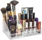 Sorbus Acrylic Cosmetics Makeup & Jewelry Storage Case Display Top