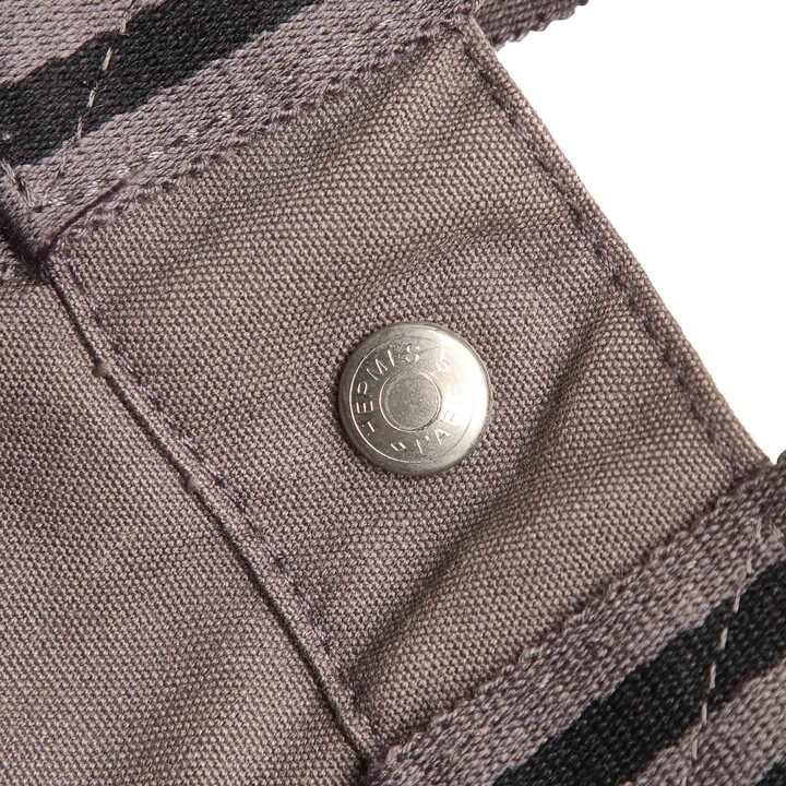 Thumbnail for your product : Hermes Grey Canvas Fourre Tout PM bag