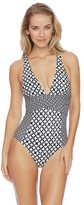 Athena Baja Geo Alana Cross One Piece