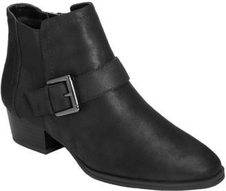 Aerosoles Western Inspired Booties - Cross Out