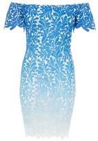Dorothy Perkins Womens *Quiz Blue Crochet Bodycon Dress, Blue