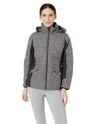 D & Jones Women's Midtown Insulated Fabric-Block Jacket