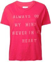 Zoe Karssen quote print T-shirt