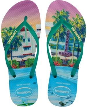 Havaianas Slim Paisage Flip-Flop Sandals Women's Shoes