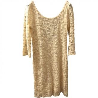 Liu Jo Liu.jo Ecru Lace Dress for Women