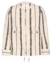 Tory Burch Debbie Striped Jacket