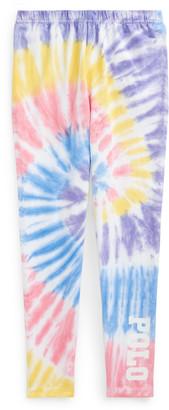 Ralph Lauren Tie-Dye Stretch Jersey Legging