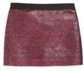 Milly Minis Toddler's & Little Girl's Metallic Jacquard Skirt
