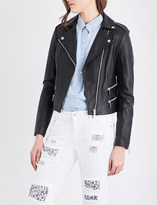 MICHAEL Michael Kors Biker leather jacket