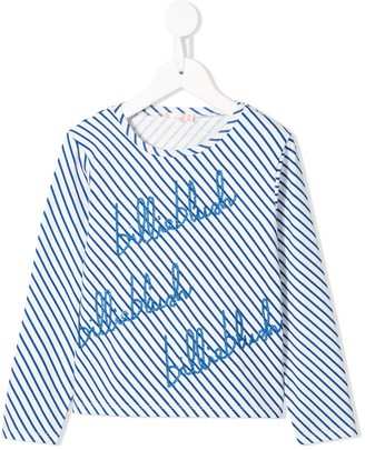 Billieblush striped cotton T-shirt