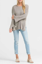Lush Clothing Wide-Sleeve Knit Sweater