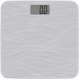 Escali Glass Waves Body Scale