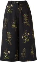 OSKLEN cropped flared trousers