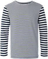 Blue Blue Japan long sleeve stripe T-shirt - men - Cotton/Nylon/Spandex/Elastane - XS