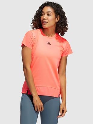 adidas Heat Ready Training T-Shirt - Pink