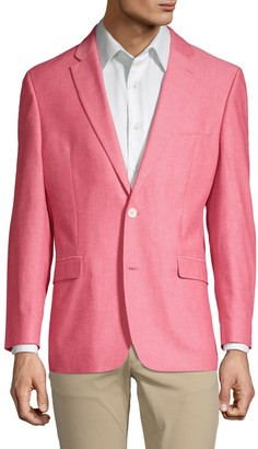 Tommy Hilfiger Solid Cotton Sport Jacket