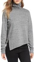 Cheap Monday 'Valid' Asymmetrical Hem Turtleneck Sweater