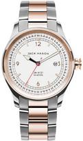 Jack Mason Brand Men&s Brand Nautical Bracelet 42mm Watch