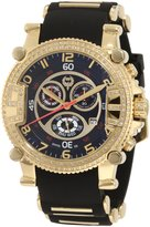 Brillier Men's 02.2.2.1.11.07 Grand Master Tourer Gold-Tone Rubber Watch