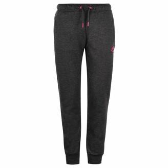 Lonsdale London Womens Slim Jogging Pants Charcoal 6 (XXS)