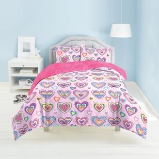Dream Factory Hearts 2-3 Piece Comforter Set