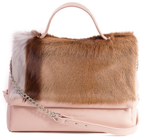 SHERENE MELINDA Nude Smith Tote Bag With A Stripe