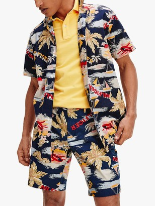 Tommy Hilfiger Hawaiian Print Shirt, Multi