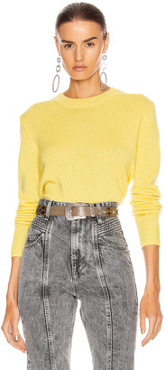 Isabel Marant Cyllia Sweater in Yellow | FWRD