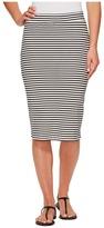 Roxy Call Up In Dreams Stripe Midi Bodycon Skirt