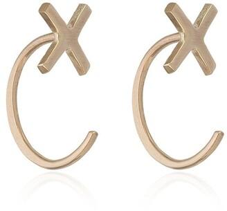 Melissa Joy Manning cross stud earrings