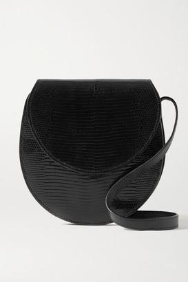 Hunting Season Lizard Shoulder Bag - Black