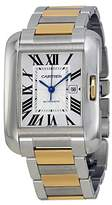 Cartier Women's W5310047 Tank Anglaise Analog Display Automatic Self Wind Two Tone Watch