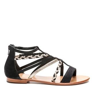 Cosmo Paris Keira Leather Sandals
