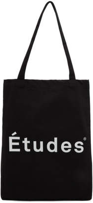Études Black Logo November Tote
