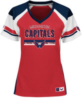 Majestic Women's Washington Capitals Ready to Win Shimmer Jersey