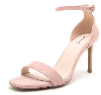 Qupid Backfire Nude Heel