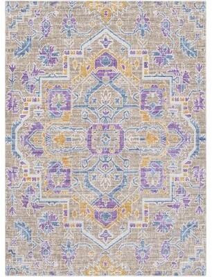 MistanaTM Altus Oriental Multi-Color Area Rug Mistana Rug Size: Rectangle 2' x 3'
