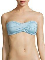 Carmen Marc Valvo Classic Solids Bandeau Bikini Top