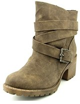 Groove Sydnie Round Toe Synthetic Ankle Boot.