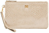 Lodis Bria Leather Wristlet