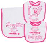 Gerber Baby Chicago Bears 3-Piece Bib & Burpcloth Set