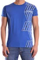 Dirk Bikkembergs Men's Blue Cotton T-shirt.