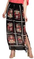 Nic+Zoe Maxi Shirt and Printed Skirt
