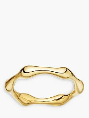 Missoma 18ct Gold Vermeil Molten Ring, Gold