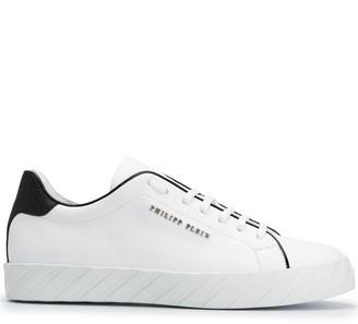 Philipp Plein Low-Top Leather Sneakers