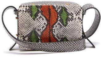Lutz Morris Maya Snake-effect Leather Cross-body Bag - Multi