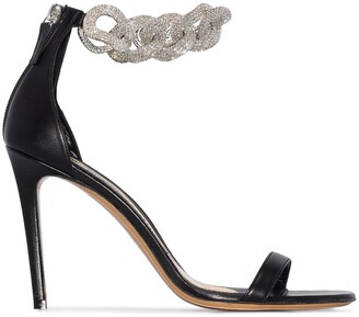 Alexandre Vauthier Elsa embellished strap sandals