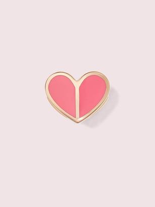 Kate Spade Unlock Your Heart Enamel Spade
