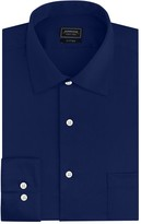 Arrow Men's Fitted Spread-Collar Dress Shirt