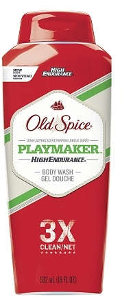 Old Spice High Endurance Body Wash Playmaker